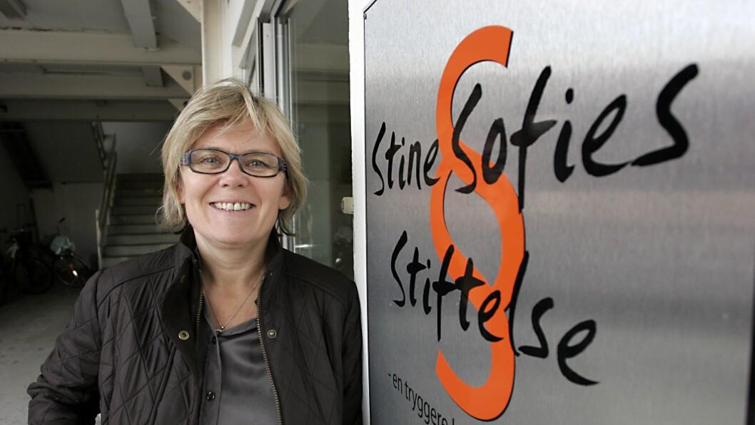 Ada Sofie Austegard, leder i Stine Sofies Stiftelse.