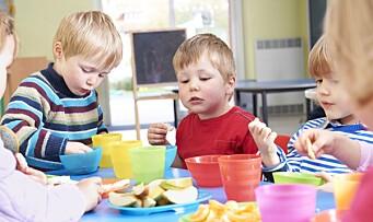 Ikke alle matpengene foreldrene betalte gikk til mat
