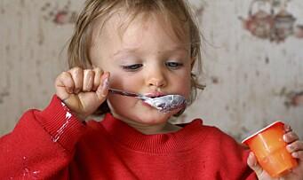Yoghurt og kakao uønsket i barnehagen