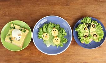 Barnehagen kan fremme gode matvaner