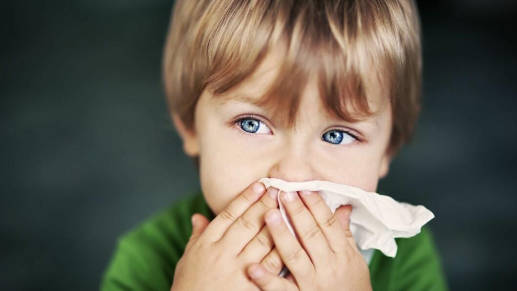 Virusinfeksjoner florerer i barnehagen.