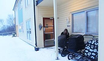 Barn som sover ute i barnehagen unngår smitte