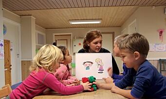 Ingen følelser er forbudte for barna i denne barnehagen