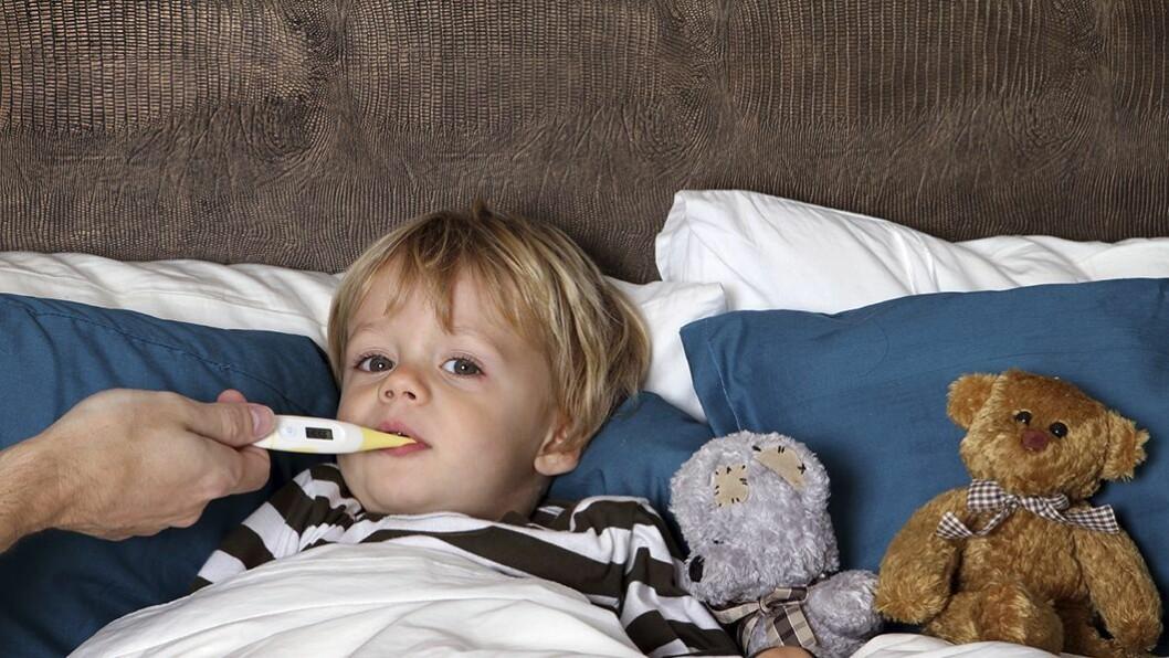 Hold barnet hjemme: Dersom barnet ditt får omgangssyke skal du holde det hjemme i 48 timer etter at det er symptomfritt.