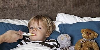 Derfor skal du holde syke barn hjemme