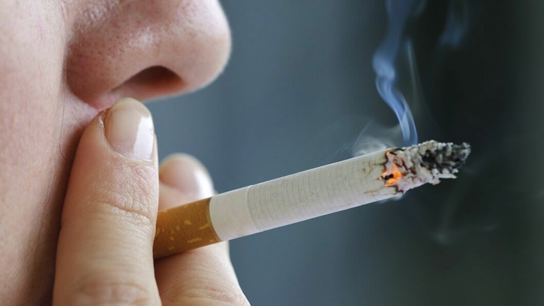 Forbudt: Barn skal skjermes fra sigarettrøyk og fra i morgen er det ikke lenger lov å røyke i eller utenfor barnehagen.