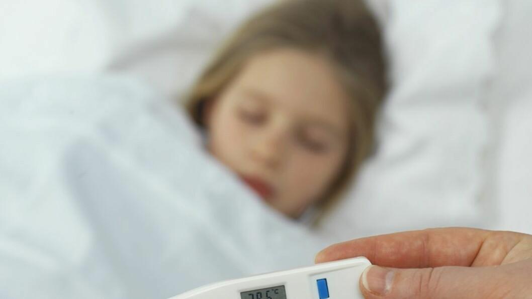 Hold barnet hjemme: Det er viktig å holde barnet hjemme når det det syk, for å unngå at andre barn og ansatte smittes.