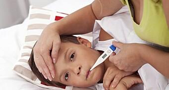 Leverer syke barn i barnehagen