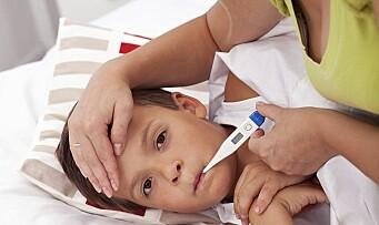 Her er de vanligste barnesykdommene