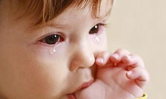 Øyekatarr – kan barnet sendes i barnehagen?