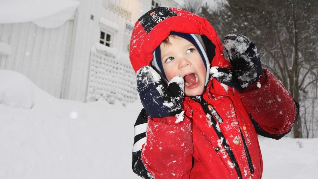 Innsiden utenpå. Johannes (5) er en av 800 000 høysensitive nordmenn.