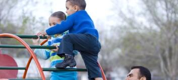 Stadig flere menn i barnehagene