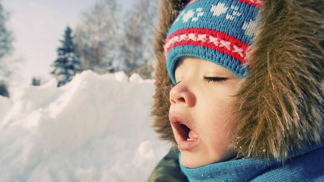 Tåler ikke ull: Ull inneholder firbre som gir barn med atopisk eksem sår og kløe. Barnelege Bente Kvenshagen anbefaler heller bomull innerst.