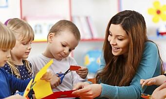 - Kompetanse og bemanning er nøkkelen til realfag i barnehagen