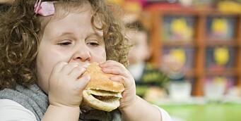 – Nei, det er ingen prestasjon å spise opp maten sin