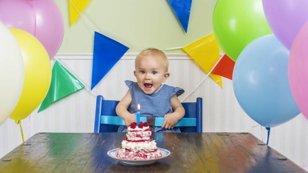 Bør det serveres kake til barn i barnehagen når noen har bursdag?