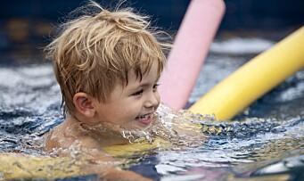 – Søk om støtte til svømmeopplæring