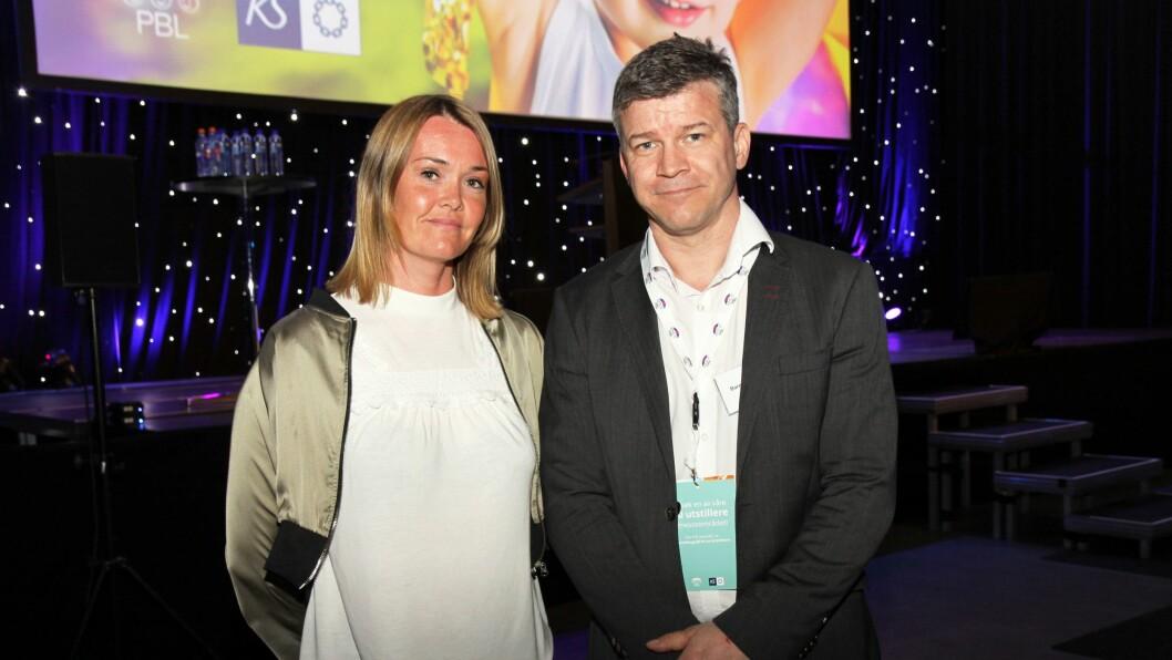 Lise Folkestad, politioverbetjent og koordinator for familievold og seksuelle overgrep og Ståle Luther, leder for Statens Barnehus i Tromsø.
