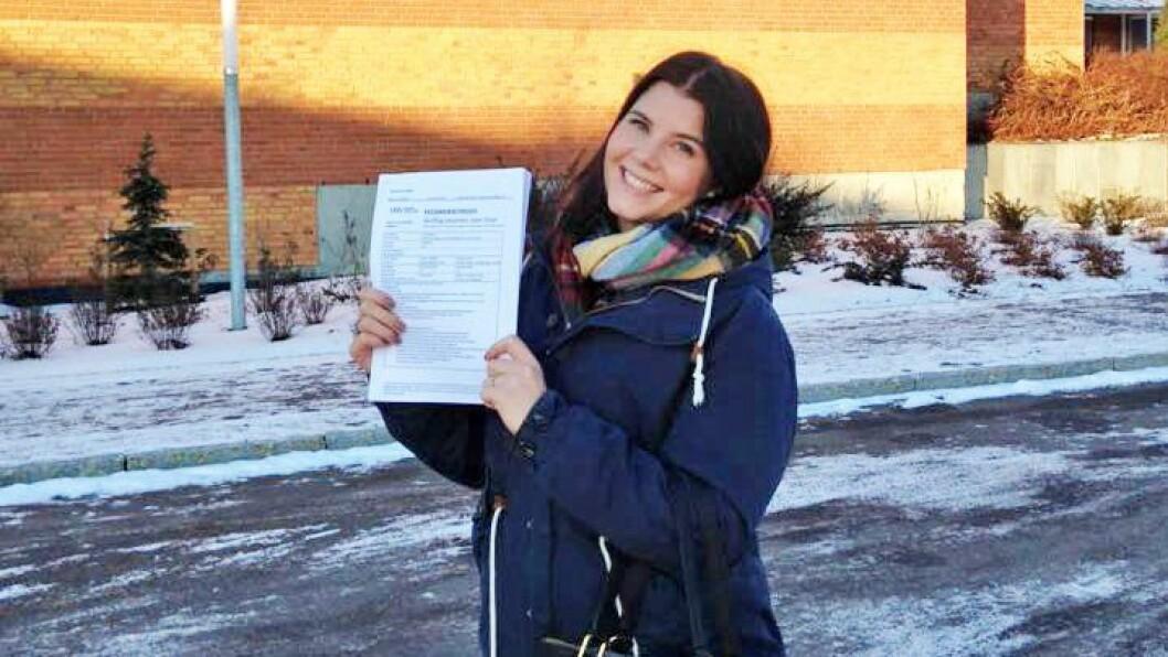 Lill Benedicte Håkestad Borge går tredje år på barnehagelærerstudiet ved Høgskolen i Sørøst-Norge.