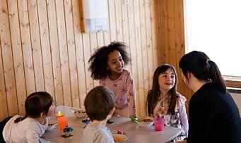 Kosthold: Vil sikre barna en god start på dagen med gratis frokost i barnehagen