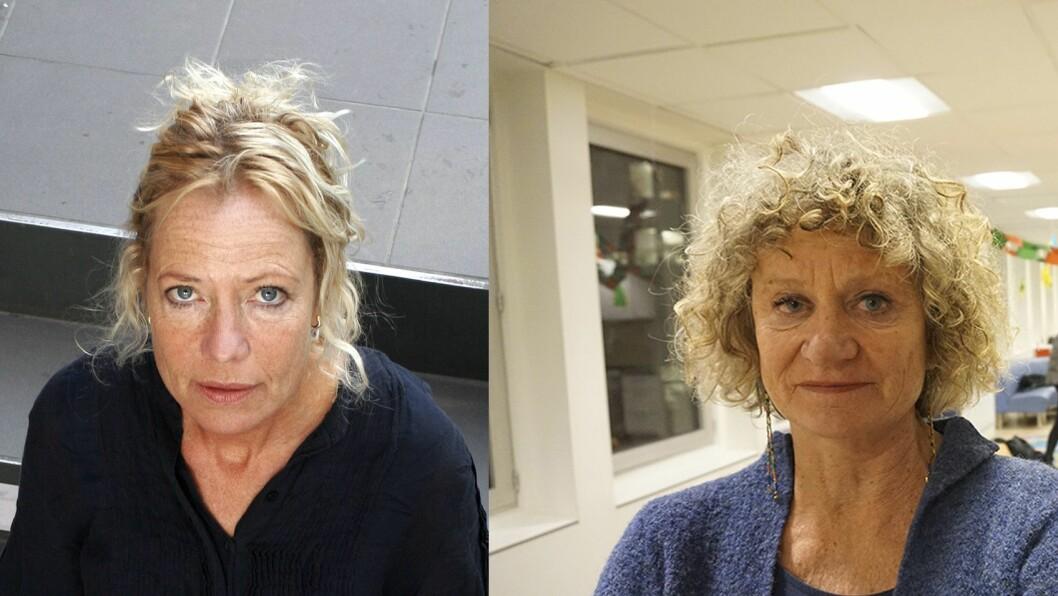 Spesialist i sexologisk rådgivning Margrete Wiede Aasland og fagkonsulent Pia Friis i barnehagestiftelsen Kanvas.