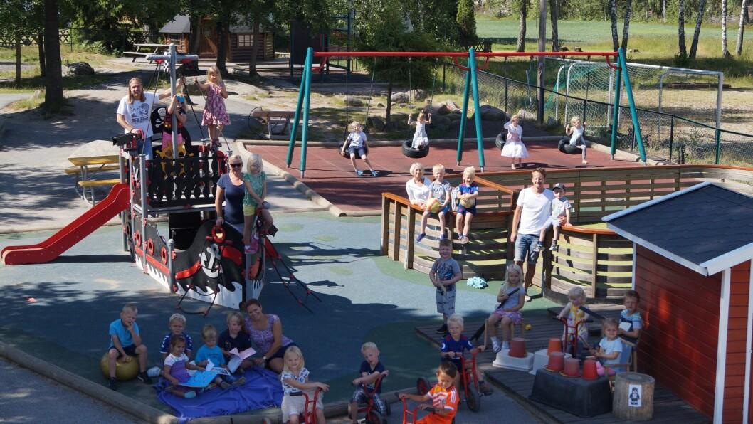 Trondalen barnehage i Fredrikstad har hatt et sykefravær på under to prosent de siste fire årene.