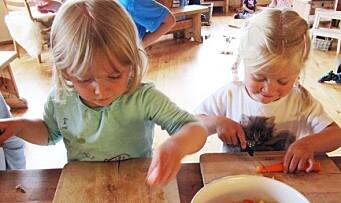 Vil du lage vegetarmat i barnehagen? – Start med noe du kjenner