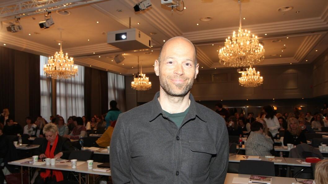 Psykologspesialist ved Statens Barnehus i Tromsø, Are Evang på barnehagekonferansen