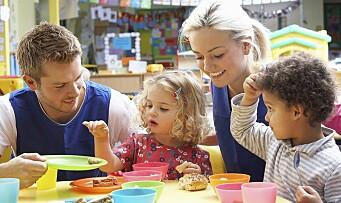 Fjerner betalt spisepause i barnehagene