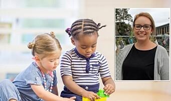 Du skal og vi vil – Et spørsmål om du er barnehagen verdig