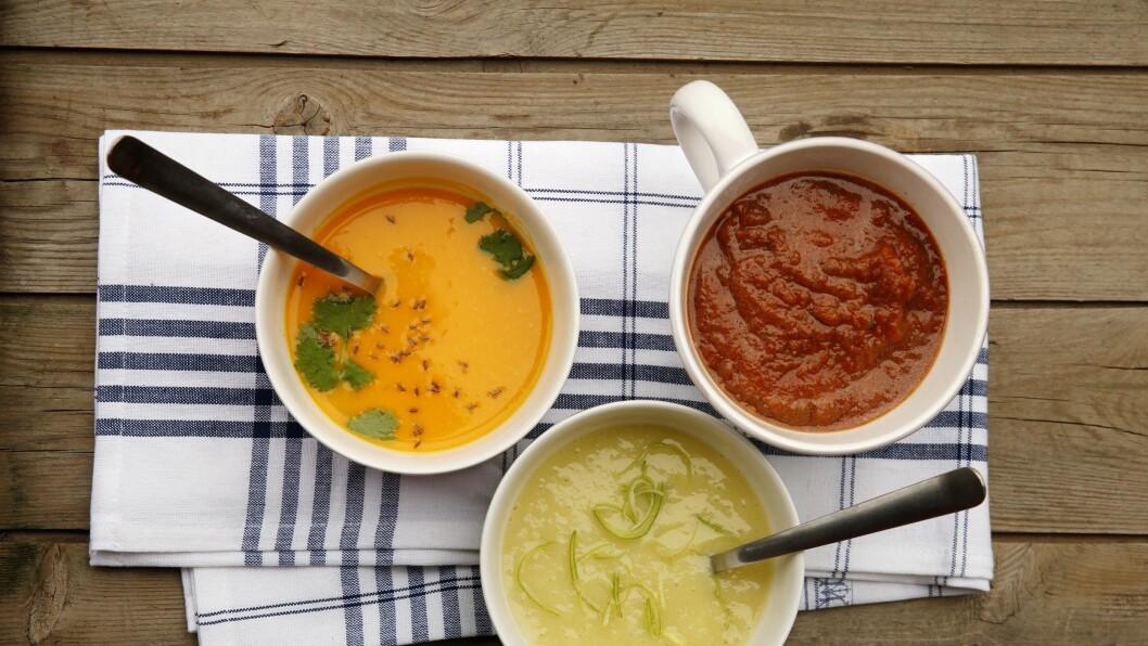 Stavmikseren gjør det lettvint å lage gode, smaksrike og sunne supper eller moser.