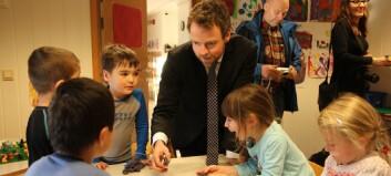 Setter ned ekspertutvalg – målet er å løfte rollen som barnehagelærer