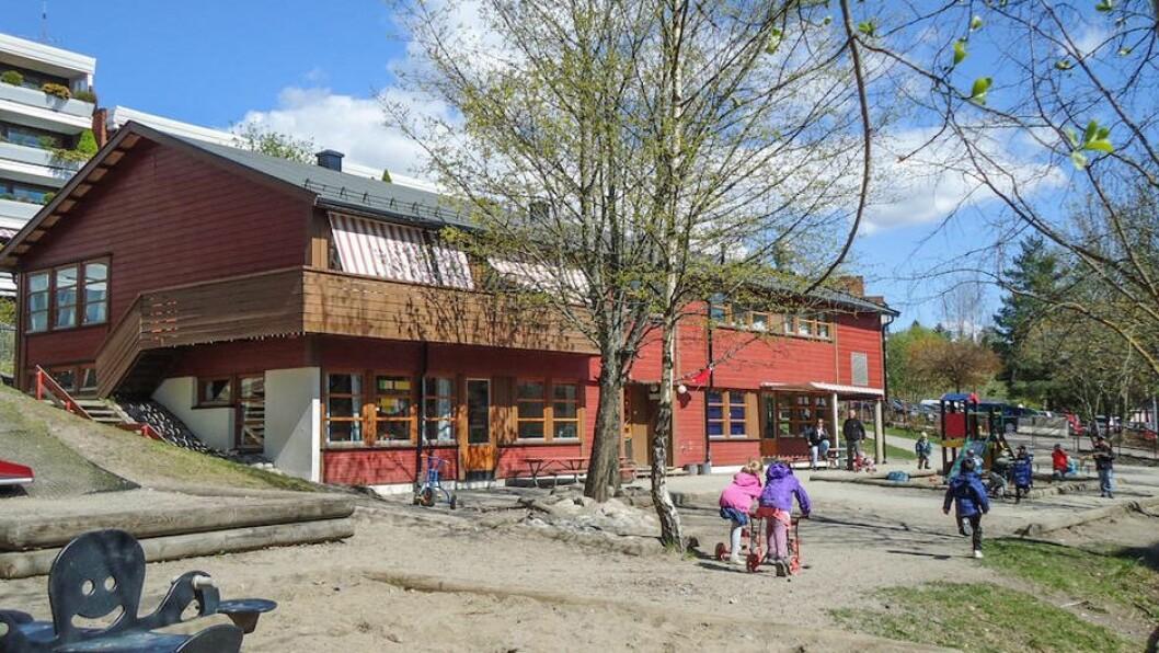Smedbakken FUS barnehage i Oslo.
