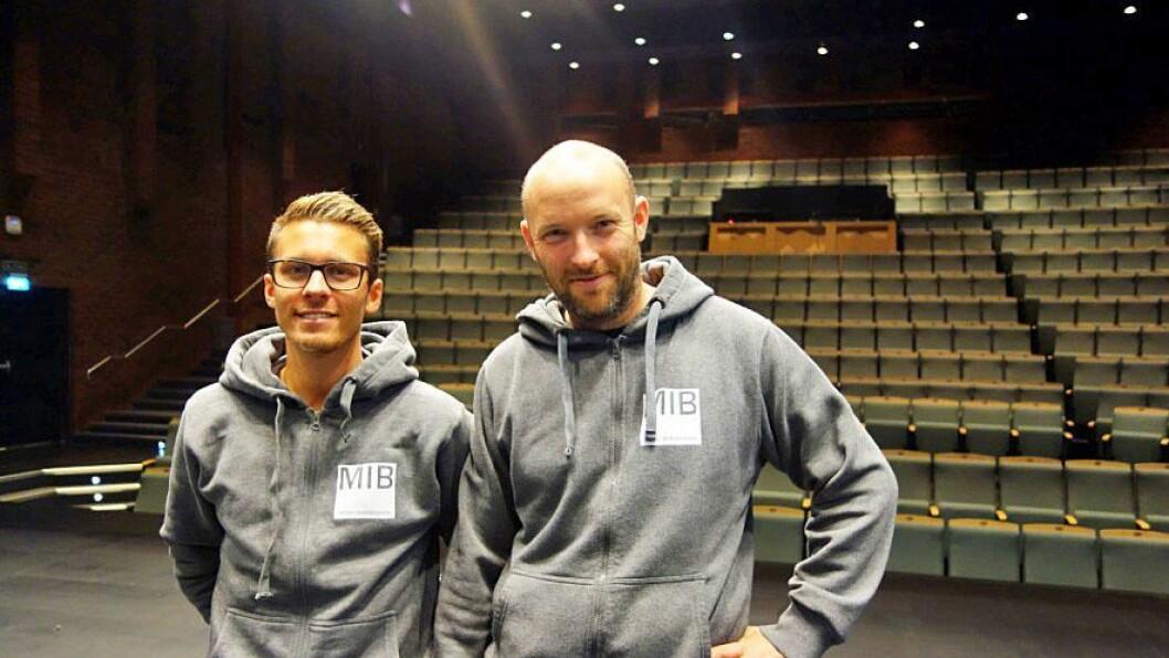 MIB-koordinatorer i Asker kommune Eirik Grav og Asgeir Berg.