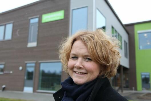 Trude Sydtangen,leder for barnehagedriften i Læringsverkstedet.