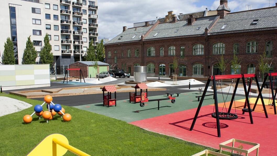 Espira Hausmannsgate barnehage i Oslo er en av de 112 barnehagene som kan bli tatt ut i streik fra tirsdag 30. august.
