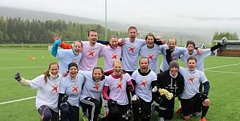 Fotballfest for barnehageansatte