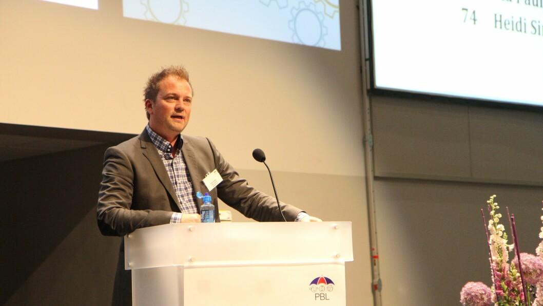 Eirik Husby er styreleder i PBL.