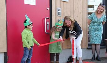 Læringsverkstedet ønsker et nytt familiemedlem velkommen