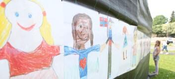 Bli med å lage verdens lengste barnekunstutstilling!