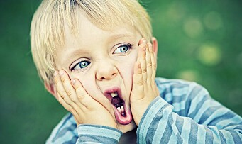 En liten «skal bare» fra en treåring