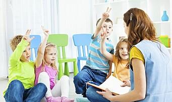Læringshysteri og barnehagebarn som framtidsprosjekt