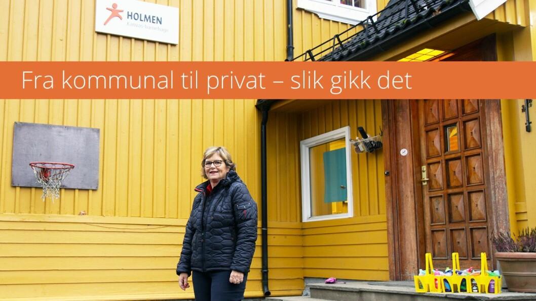 I fjor solgte Oslo kommune ti av sine barnehager til fire private aktører: Norlandia, Kanvas, FUS og Læringsverkstedet. Barnehage.no dro på besøk for å finne ut hvordan det gikk etter at hverdagen satte inn. Les hvordan styrer i Holmen Kanvas barnehage, Eva Bøhn, opplevde overgangen.