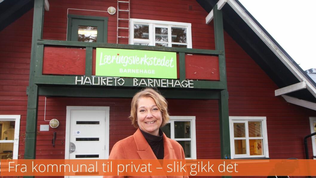 Det var bare å brette opp ermene for nyansatt styrer i Hauketo Læringsverkstedet barnehage i Oslo, Lene Simonsen, da hun overtok stillingen i fjor vår.