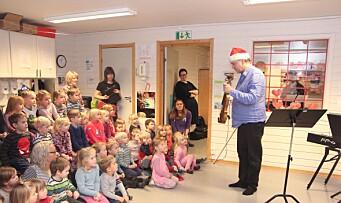 Barnehage vant symfonikonsert: – Det var fint og litt høyt!