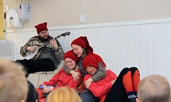 Sprer førjulsglede med musikal for barnehagebarn