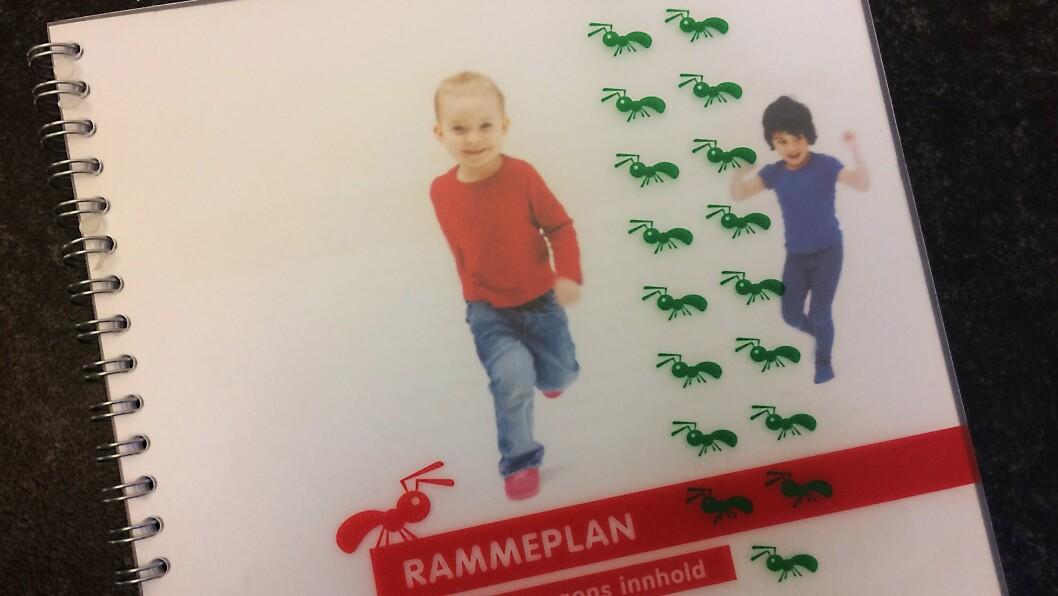 Rammeplan for barnehagens innhold og oppgaver fra 2006 er snart historie.