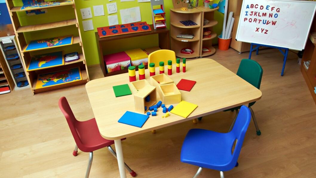 Er kameraovervåking greit? Bildet er et illustrasjonsbilde og ikke fra den aktuelle barnehagen.