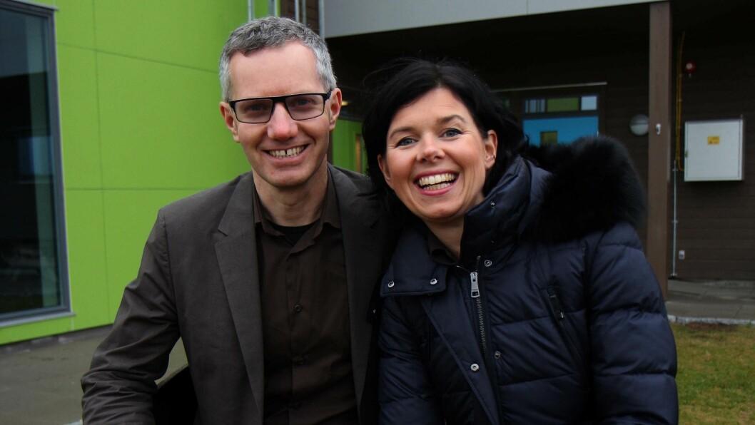 Eierne av Læringsverkstedet, Hans Jacob og Randi Sundby.
