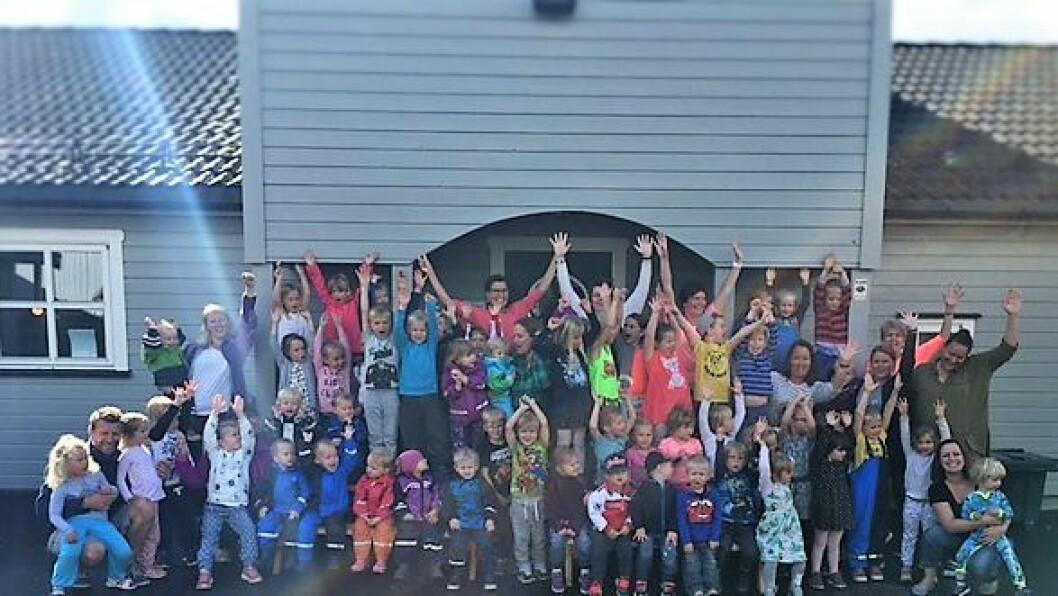 """Sommerly barnehage er en av åtte nominerte i konkurransen om å bli """"Årets barnehage 2016""""."""